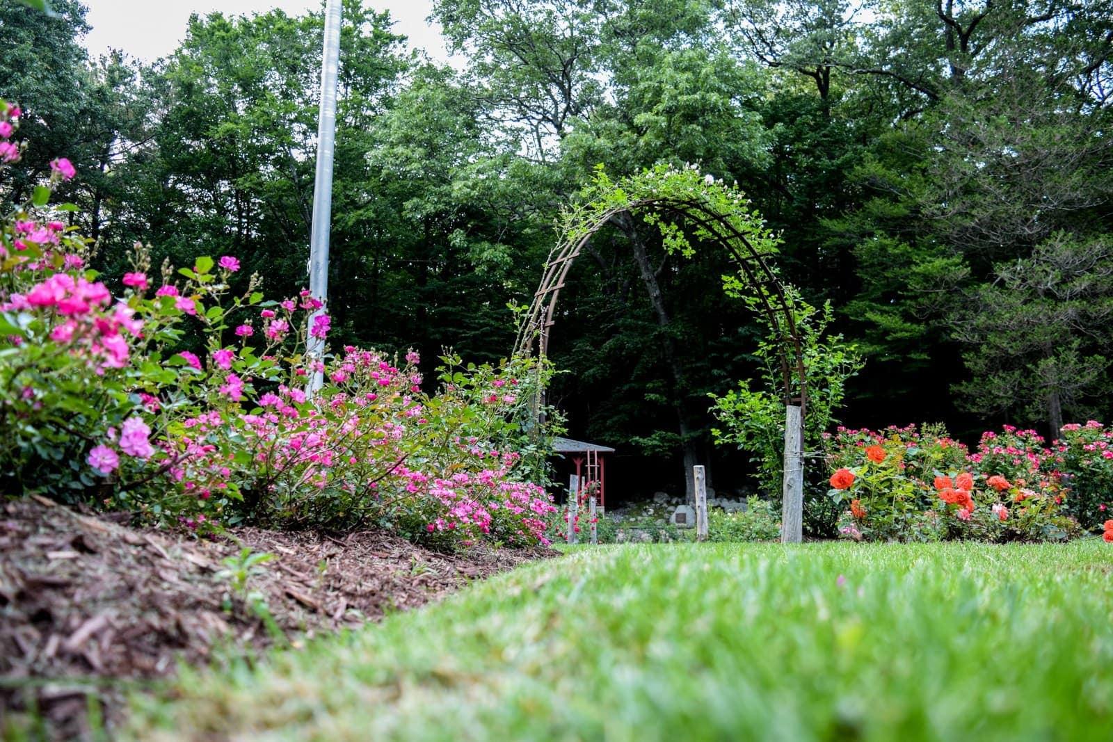 Veterans Memorial Rose Garden